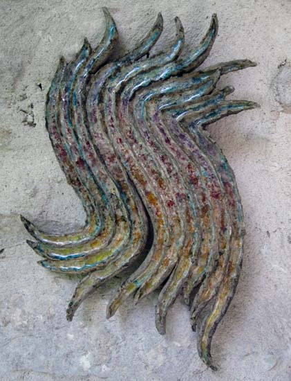 Wallpiece - Caroline Fawkes Ceramics (Wall Pieces)